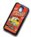 KOOLART PETROLHEAD SPEED SHOP Design For Retro Old Skool Ford Anglia 105e Case Cover Fits Samsung Galaxy S5